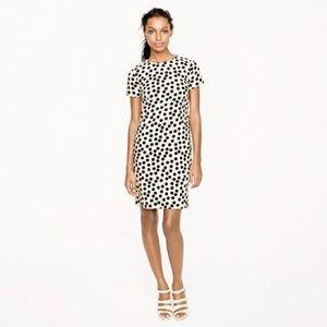J. CREW   polka dot natural shift dress career 2
